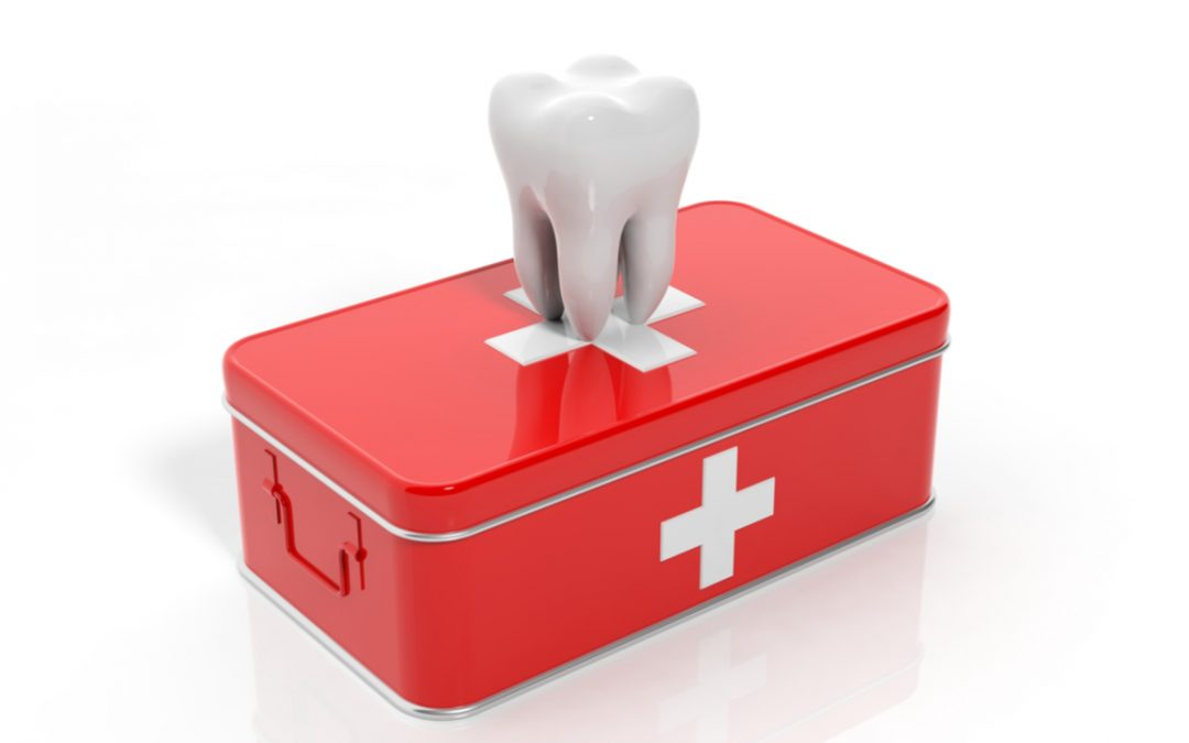 Essentials in the dental first aid kit